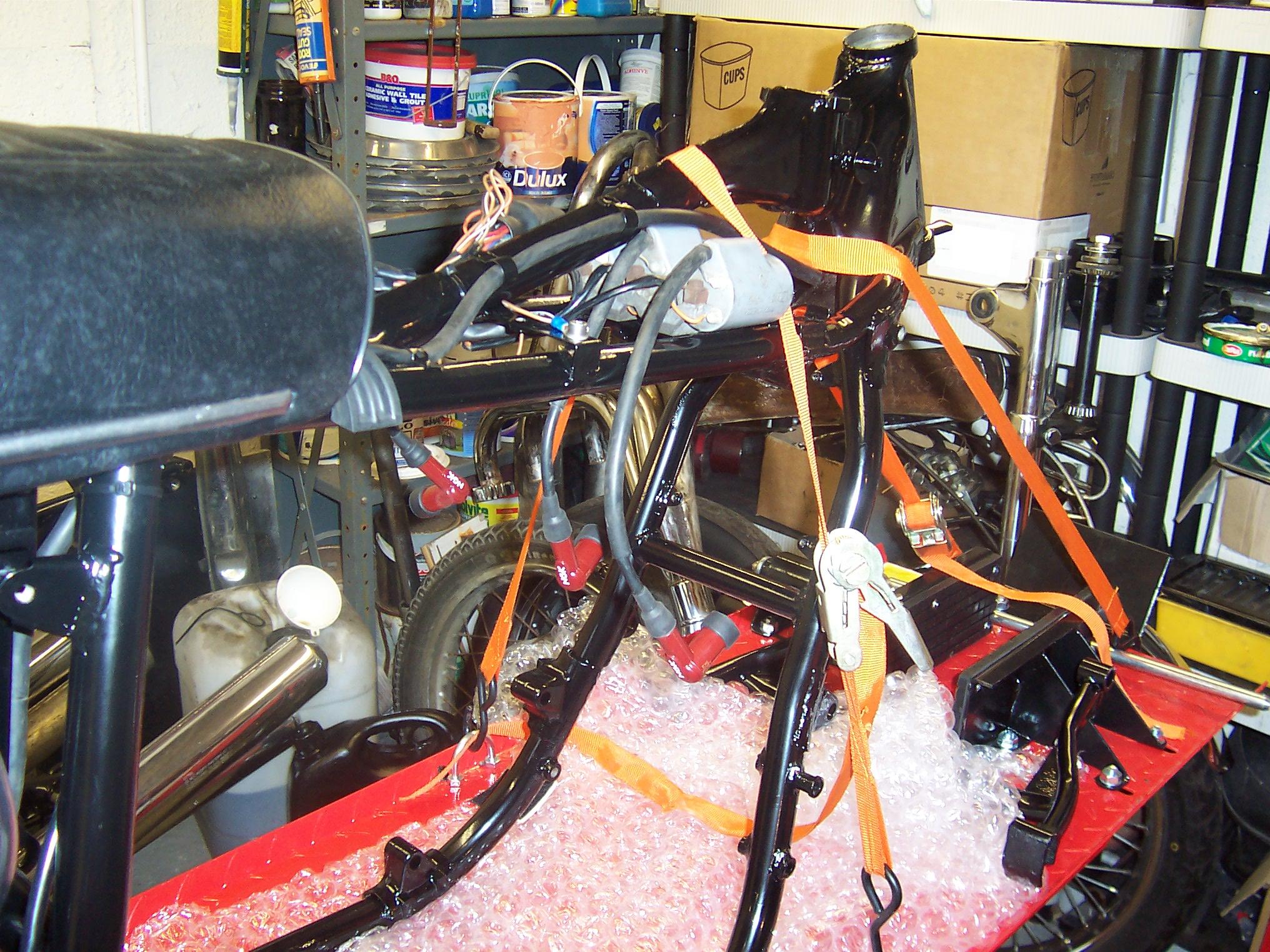 Suzuki GT750 Restoration