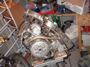 Suzuki GT550 Engine