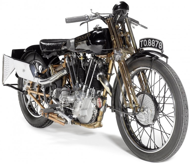 Brough Superior SS100 'Moby Dick' - 1929