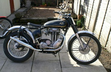 Associated Motorcycles AJS 16M Competition 350cc - 1958