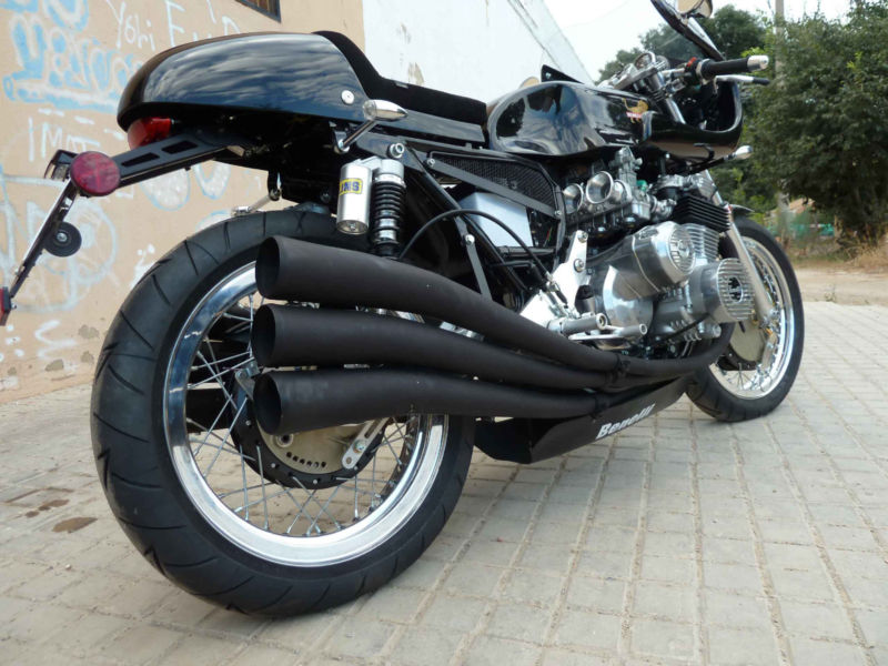 Restored Benelli 750sei Cafe Racer 1977 Photographs At