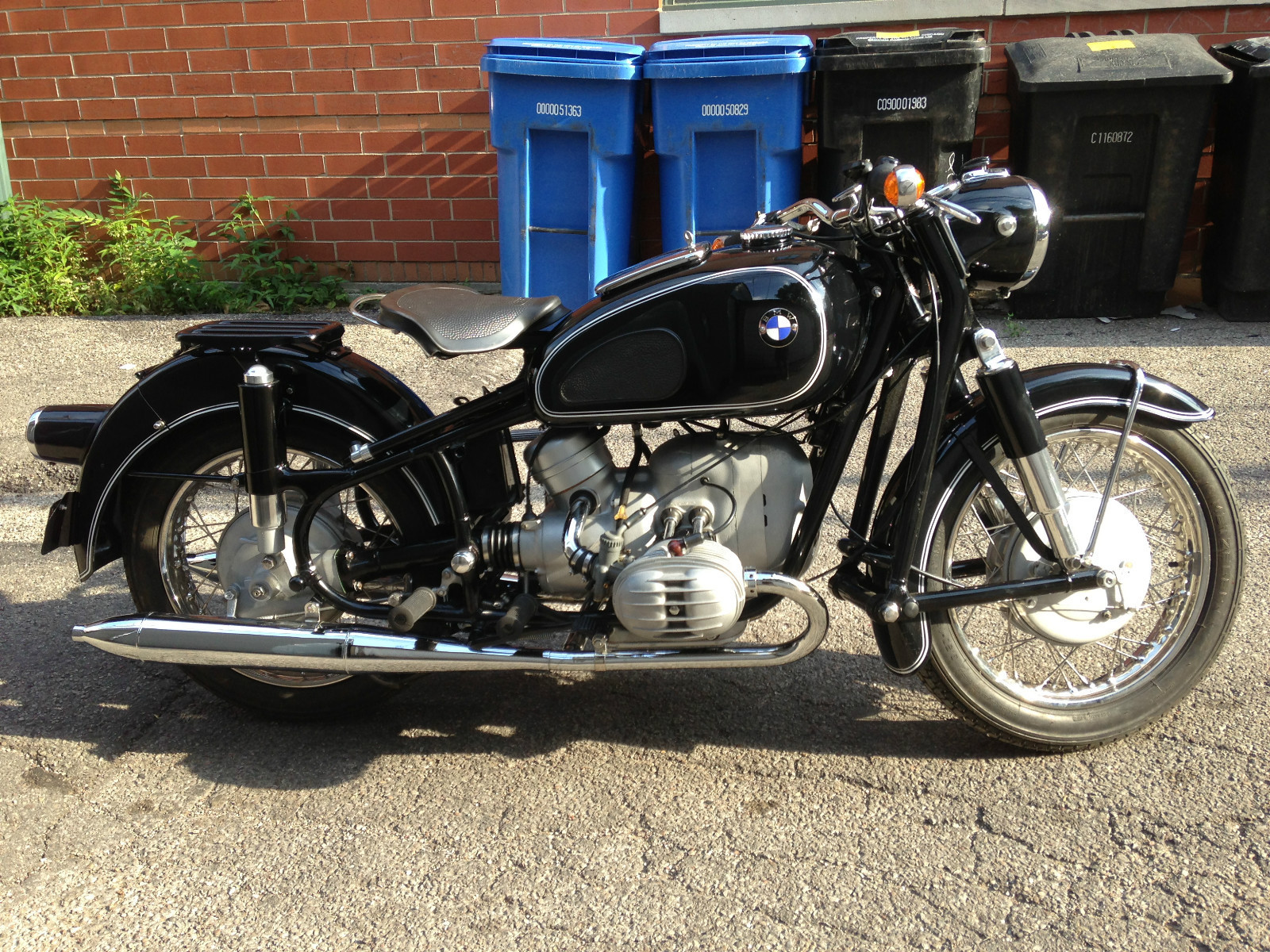 Restored Bmw R50 2 1961 Photographs At Classic Bikes Restored Bikes Restored