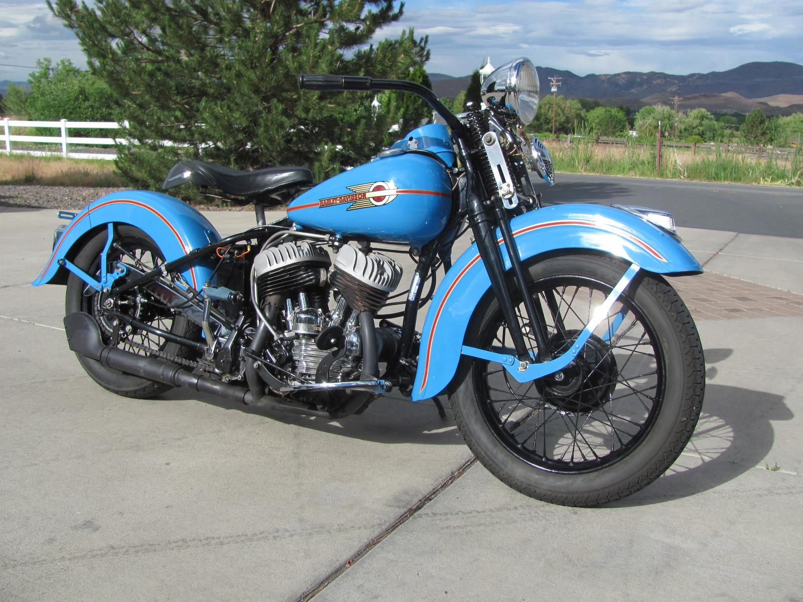 Harley Davidson WL45 Flathead - 1938