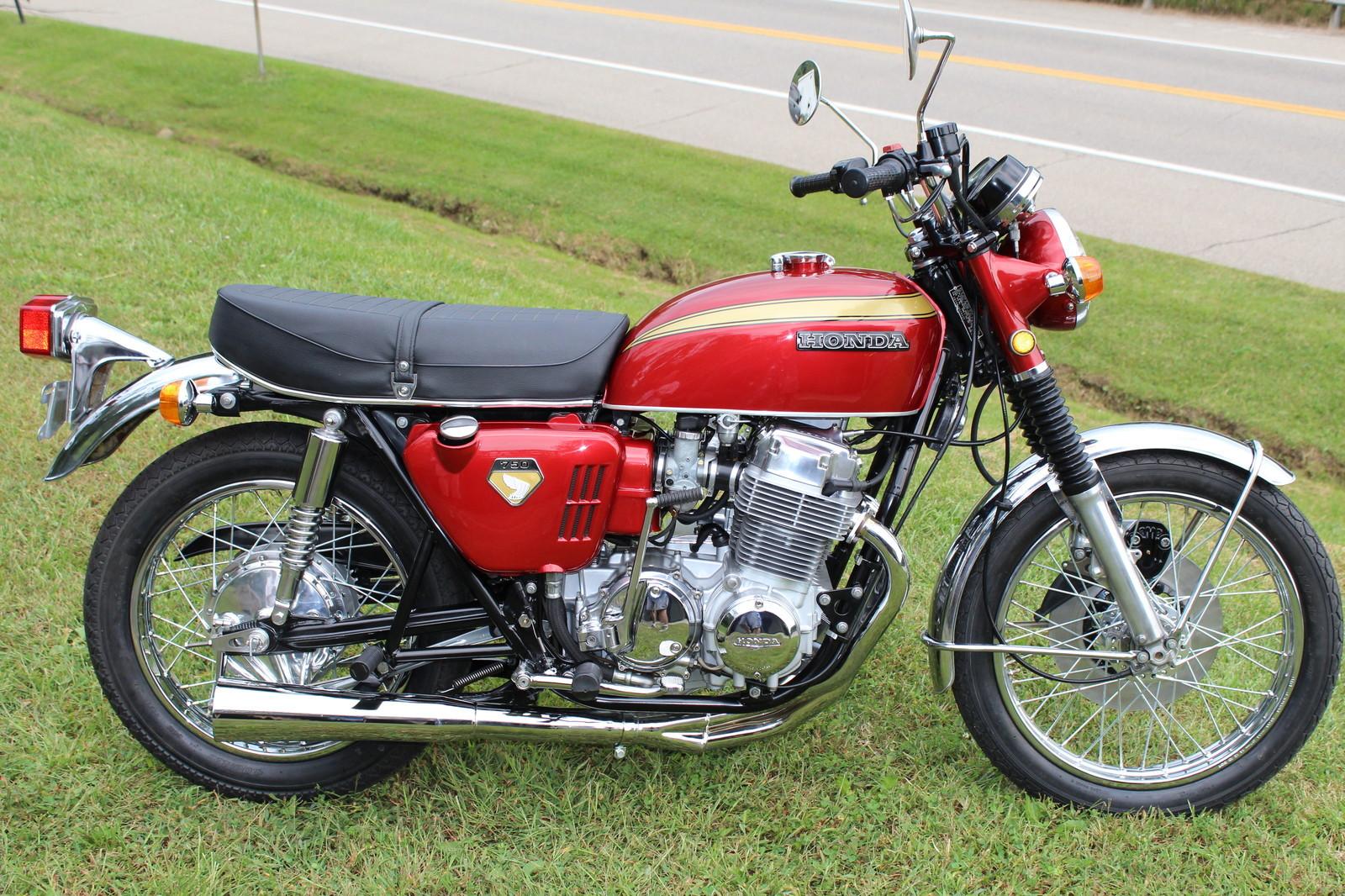 Restored Honda Cb750 1975 Photographs At Classic Bikes Wiring Schematics