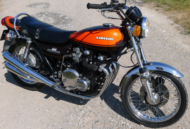 Kawasaki Z1 1973 Restored Classic Motorcycles At Bikes