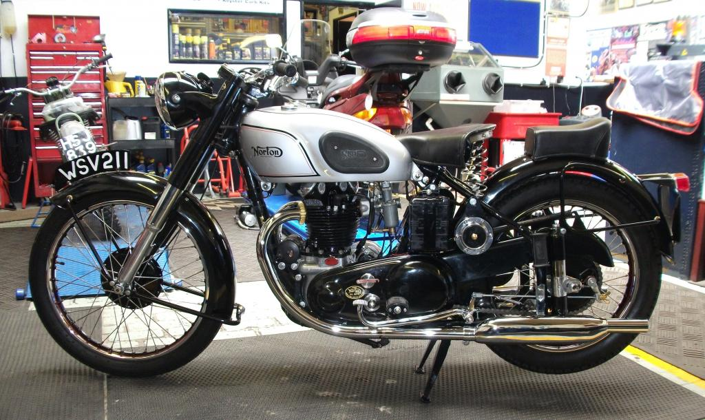 Norton Model 7 1950 Restored Classic Motorcycles At