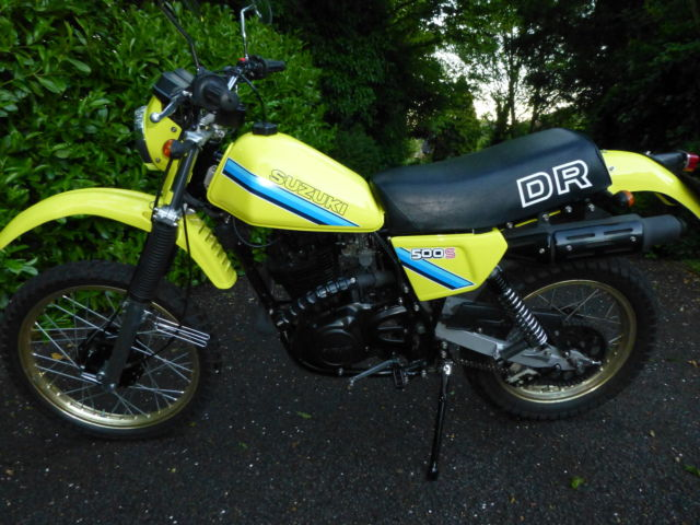 Restored Suzuki Dr500 1983 Photographs At Classic Bikes
