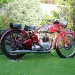 Triumph Speed Twin - 1939