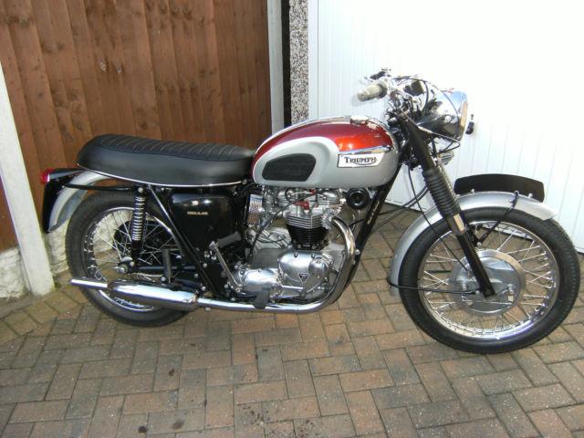 Triumph Bonneville T120 1969 Restored Classic Motorcycles At