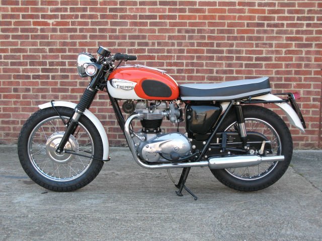 Restored Triumph T120 Bonneville 1965 Photographs At