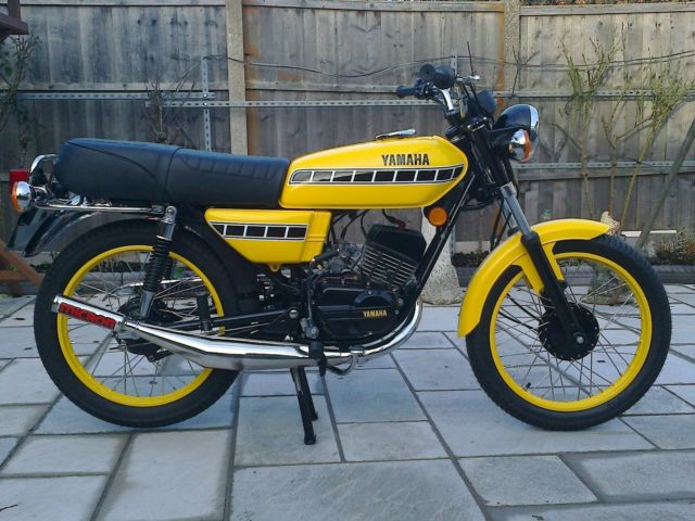 Restored Yamaha RS100 - 1979 Photographs at Classic Bikes ...