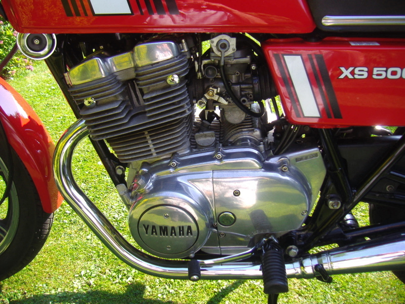 Restored yamaha xs500 1980 photographs at classic bikes for 1976 yamaha xs500 parts