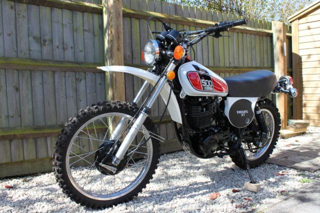 Yamaha xt500 1976 restored classic motorcycles at for Yamaha xt500 motorcycle