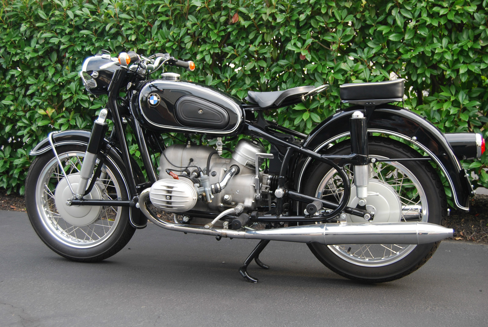 Restored Bmw R60 2 1962 Photographs At Classic Bikes Restored Bikes Restored