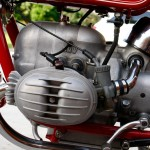 BMW R60/2 - 1966 - Carburettor, Gear Lever, Cylinder and Exhaust.