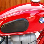 BMW R60/2 - 1966 - Petrol Tank, BMW Badge and Knee Pad.