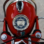 BMW R60/2 - 1966 - Speedo, Clock, Mileage, Forks and Steering Damper.