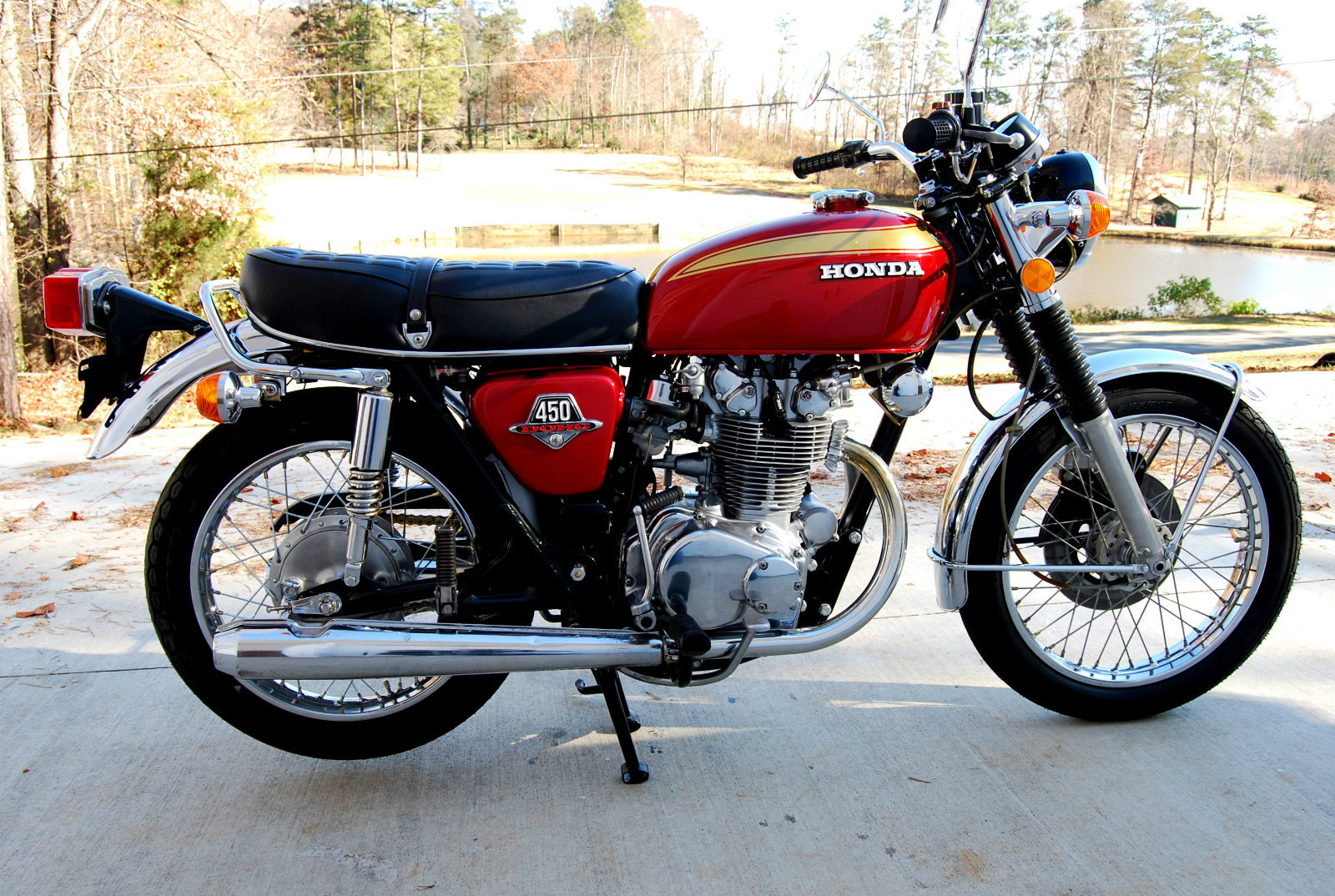 1974 honda cb450 for sale