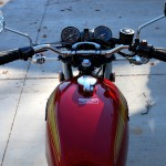 Honda CB450 - 1974 - Gas Tank, Gas Cap, Clocks, Speedo and Tacho.
