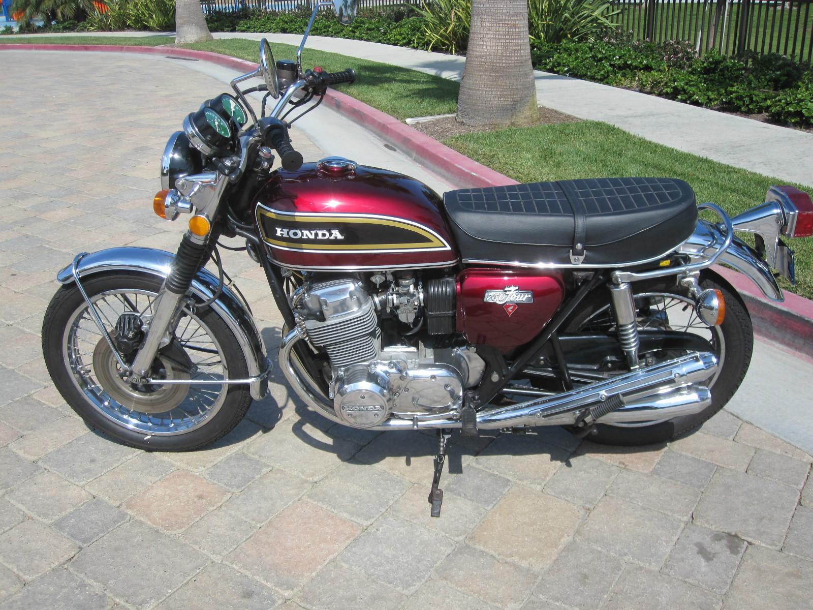 Restored Honda CB750 - 1976 Photographs at Classic Bikes ...
