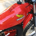 Honda CR125R Red Rocket - 1979