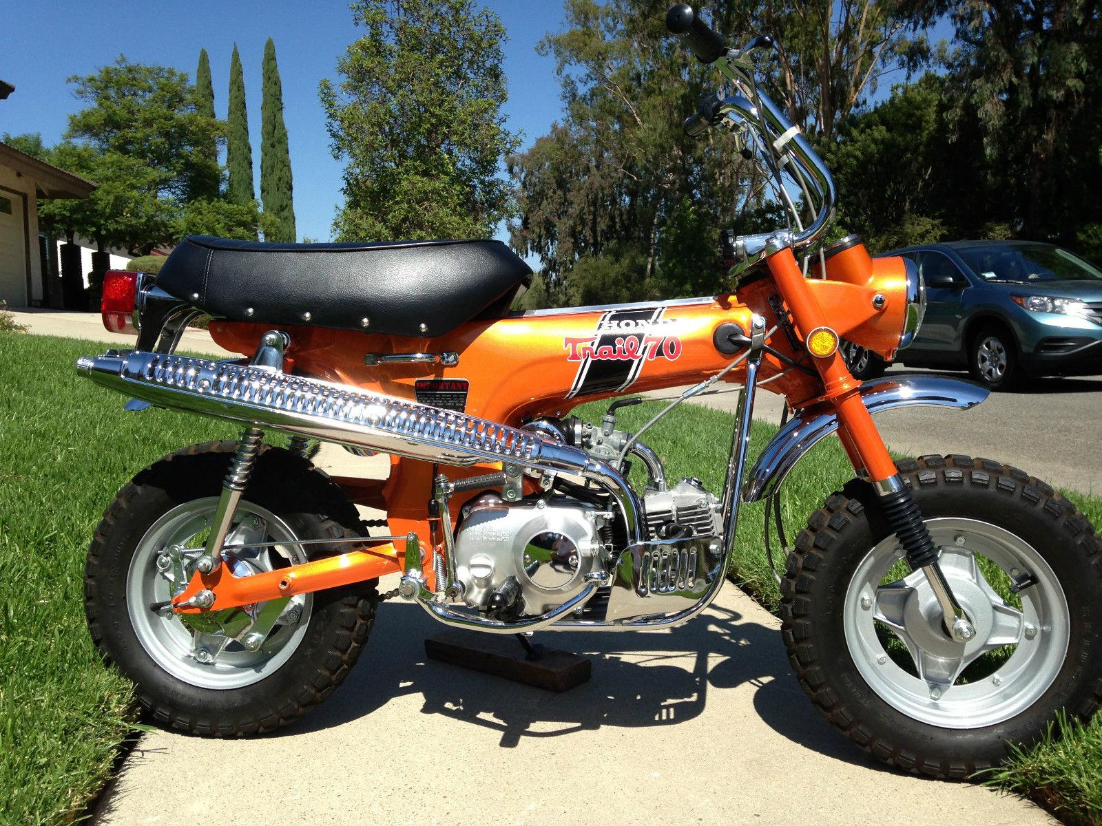 1970 Honda Ct70 Specs Restored 11970