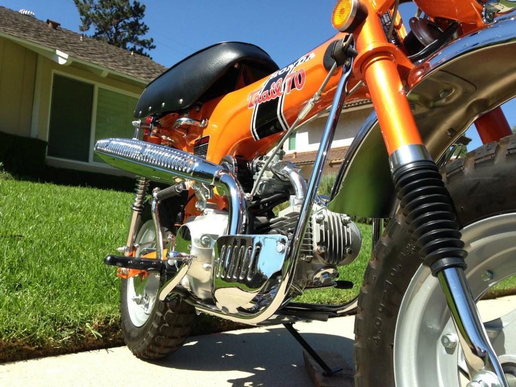 Honda Ct70 1970 Restored Classic Motorcycles At Bikes Engine