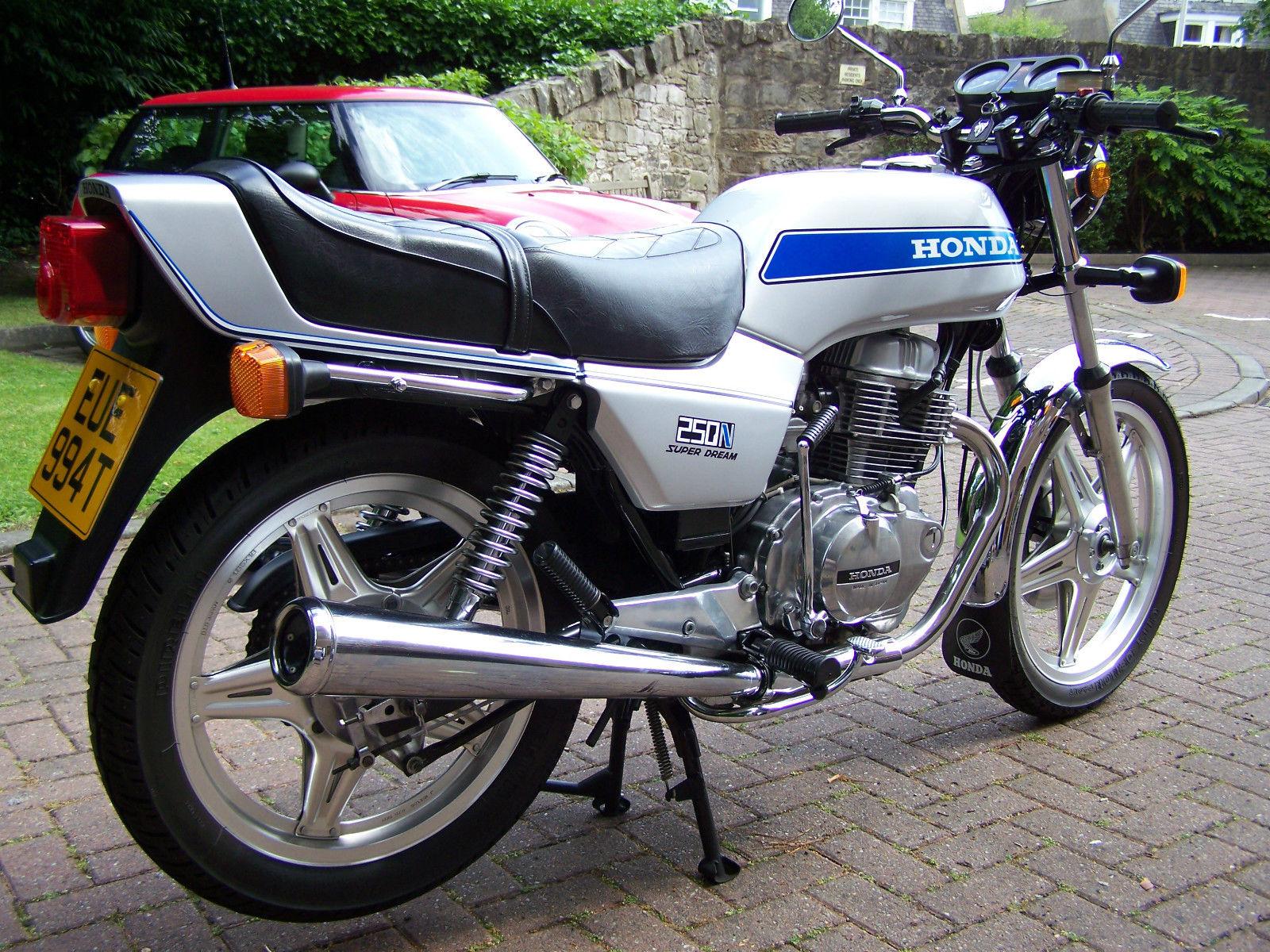 Restored Honda CB250N Superdream -1979 Photographs at ...