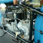 Indian Four - 1941 - Gearbox and Kick Start.