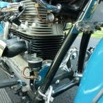 Indian Four - 1941 - Frame and Engine.