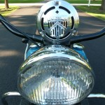 Indian Four - 1941 - Headlight and Horn.