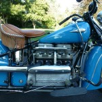 Indian Four - 1941 - Motor and Transmission, Gear Change, Seat, Saddle and Muffler.