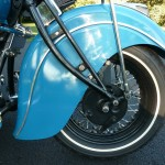 Indian Four - 1941 - Front Forks, Front Fender and Front Wheel.