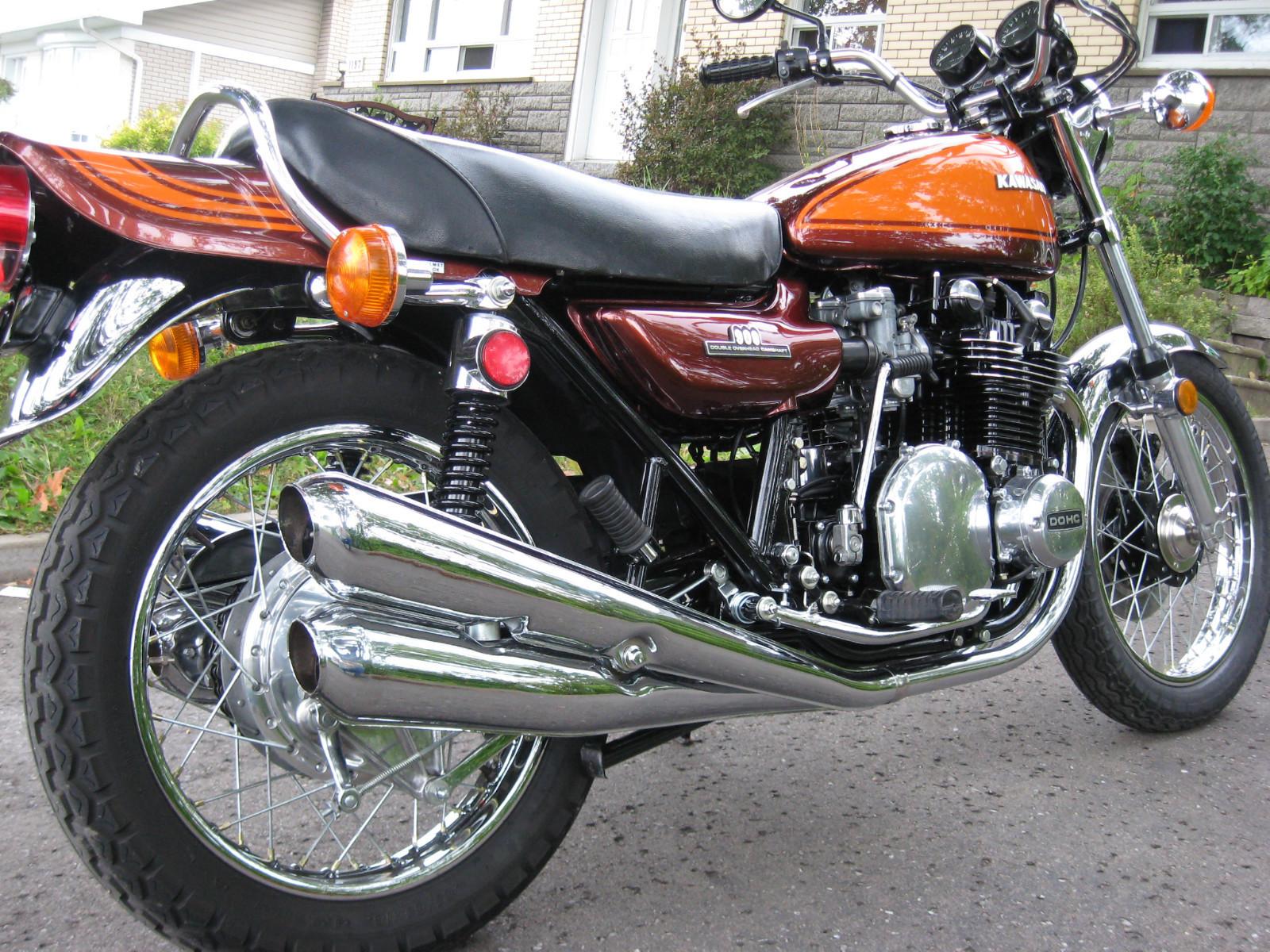 Restored Kawasakiz1 1973 13 Photographs At Classic Bikes