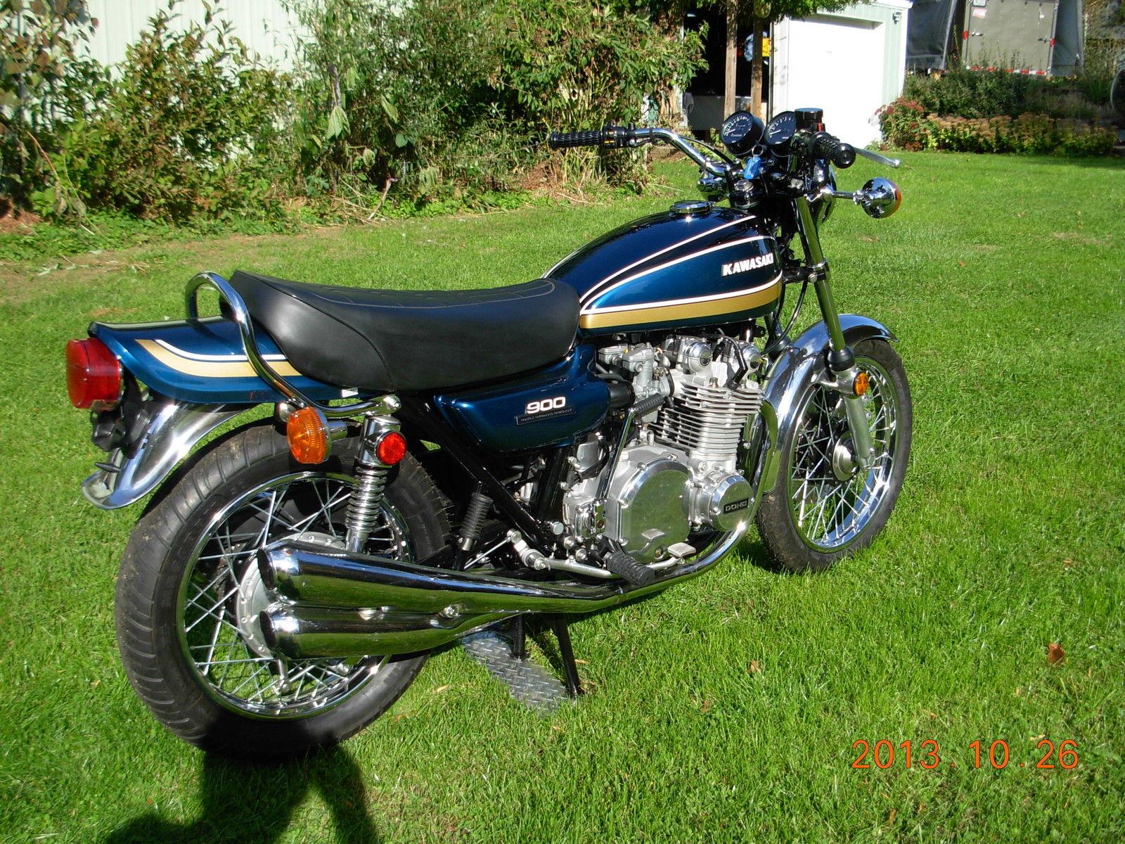 Restored Kawasaki Z1B 1975 Photographs at Clic Bikes Restored ...