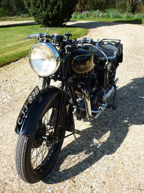 Sunbeam Model 9C - 1933