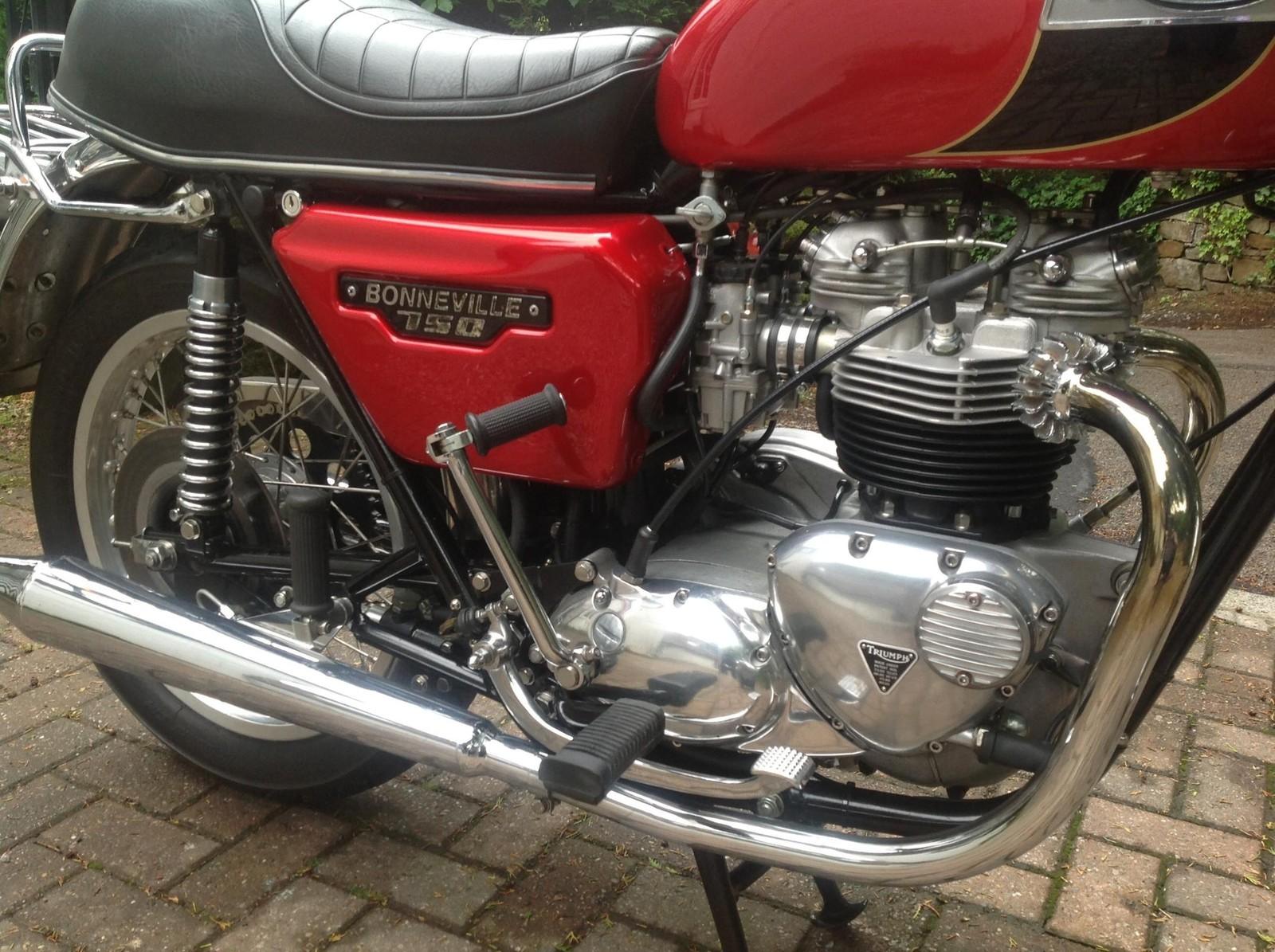 Triumph T140E - 1979