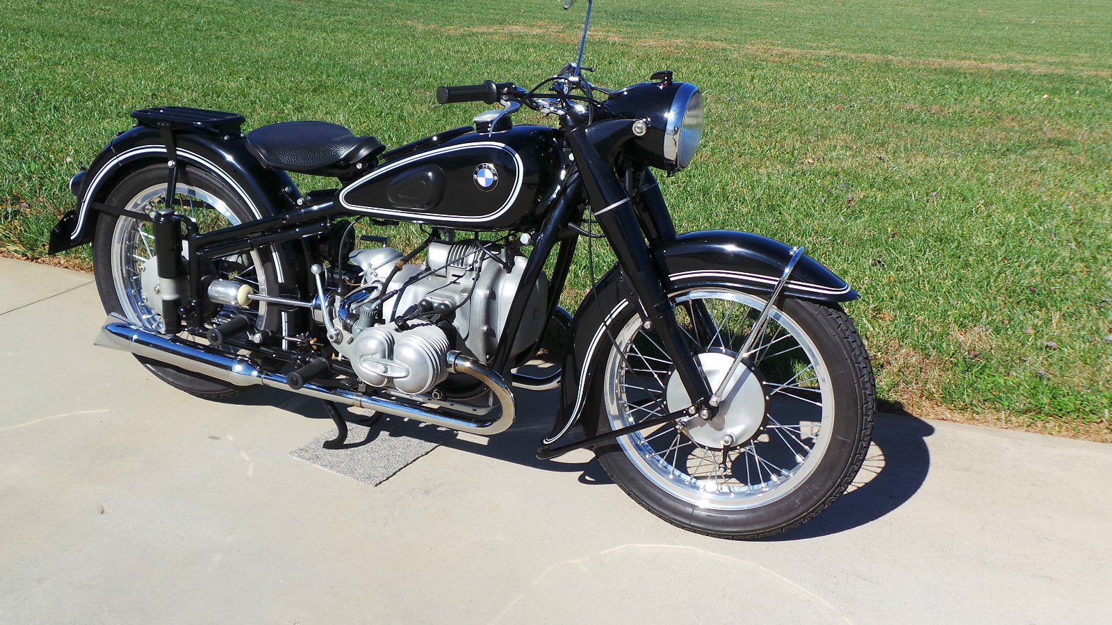Restored Bmw R51 2 1950 Photographs At Classic Bikes
