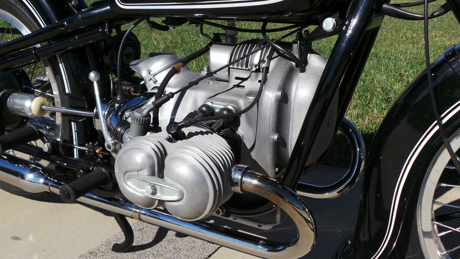 Restored Bmw R51 2 1950 Photographs At Classic Bikes Restored Bikes Restored
