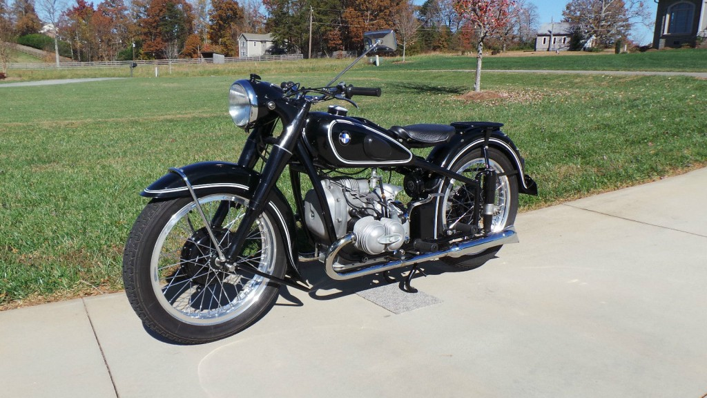 Bmw R51 2 1950 Restored Classic Motorcycles At Bikes
