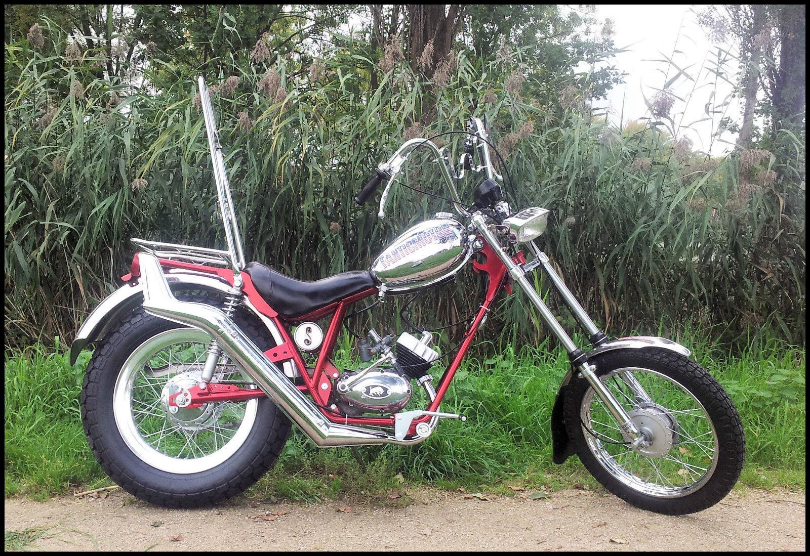 Restored Fantic Chopper - 1973 Photographs at Classic Bikes Restored |Bikes Restored