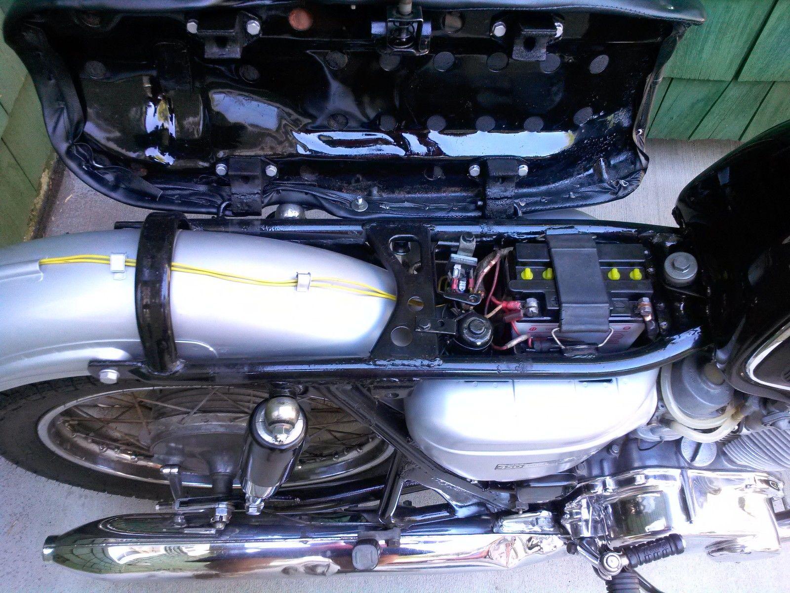 Honda CB450 Black Bomber - 1967