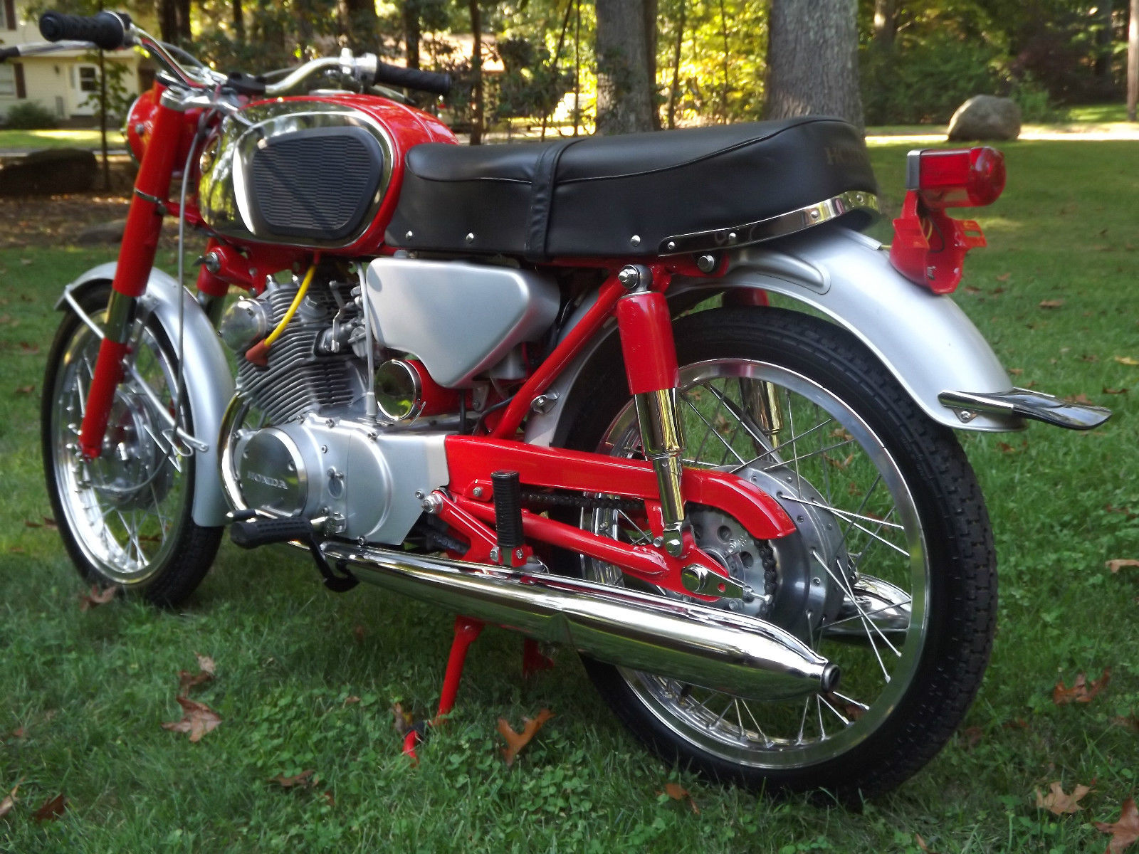 Honda Cb160 1965 Restored Classic Motorcycles At Bikes Wiring