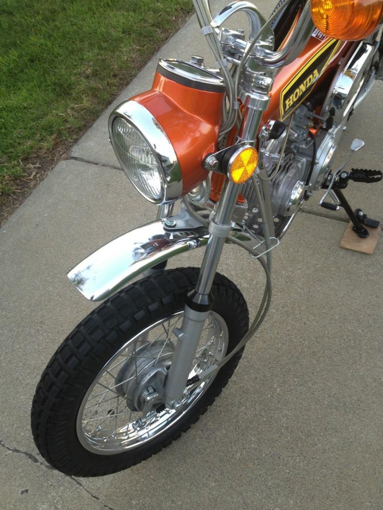 Honda Ct70 1975 Restored Classic Motorcycles At Bikes