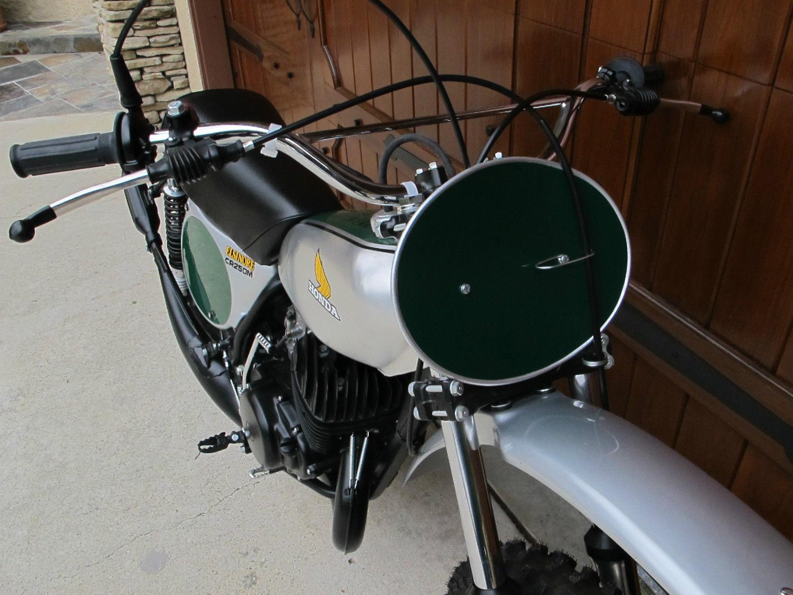 Honda CR250 Elsinore - 1973