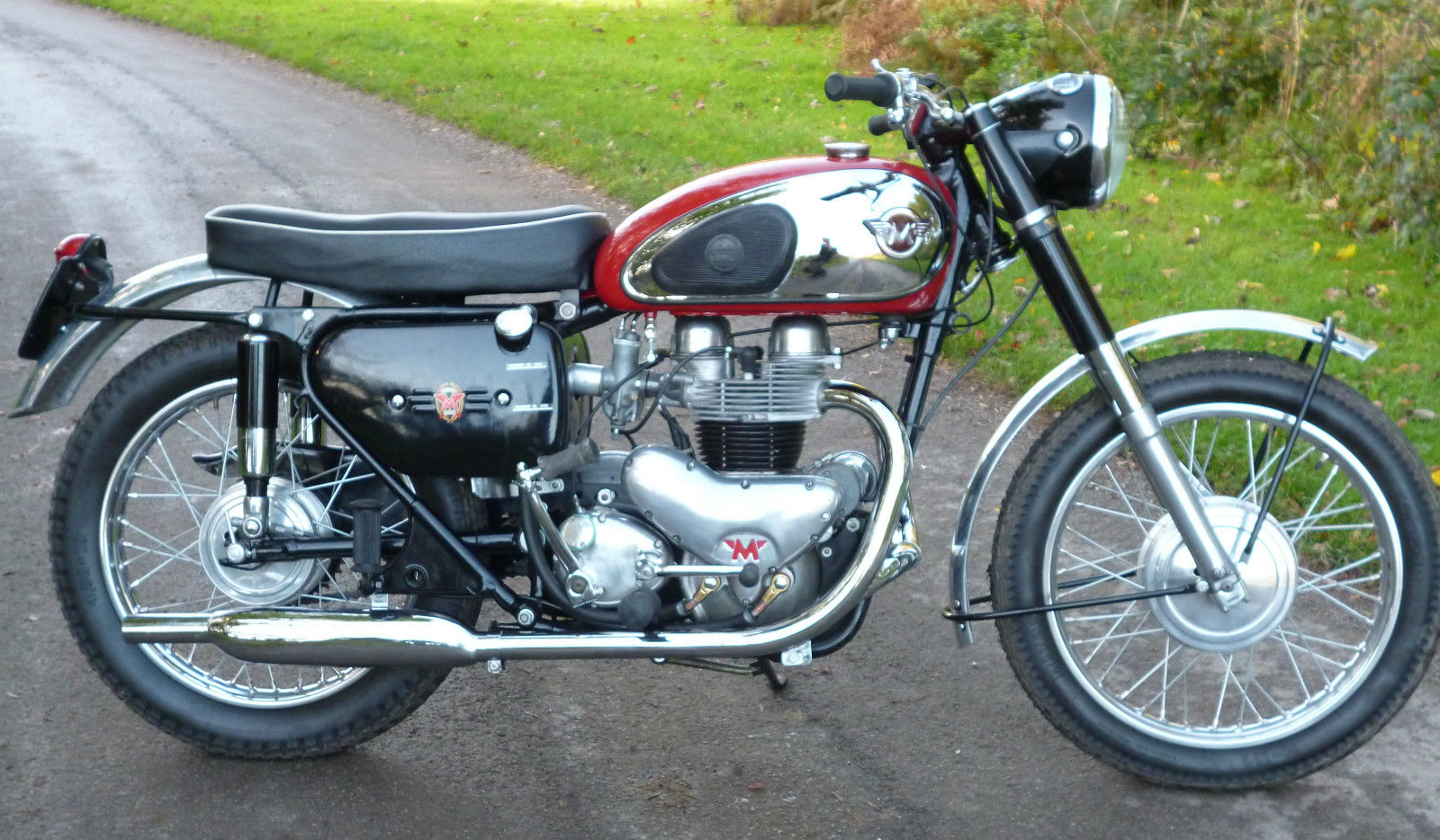 Restored Matchless G12 1960 Photographs At Classic Bikes