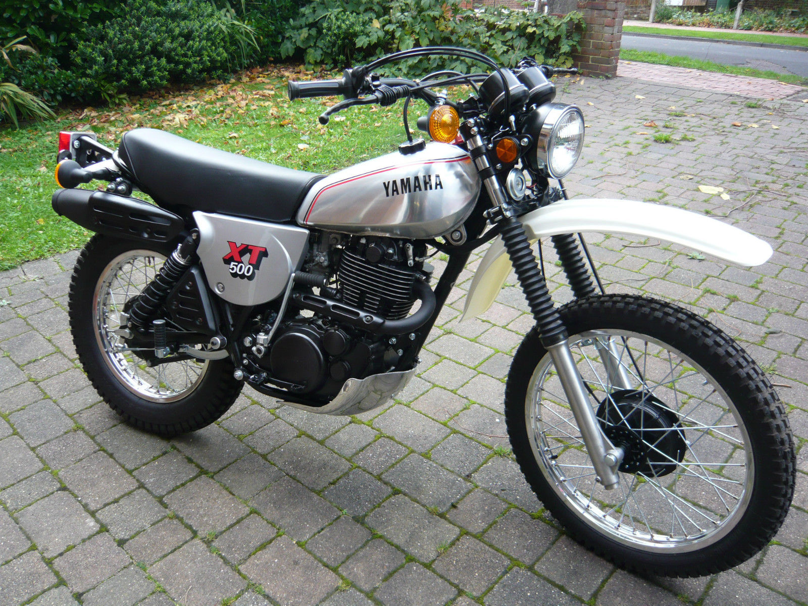 restored yamaha xt500 1981 photographs at classic bikes