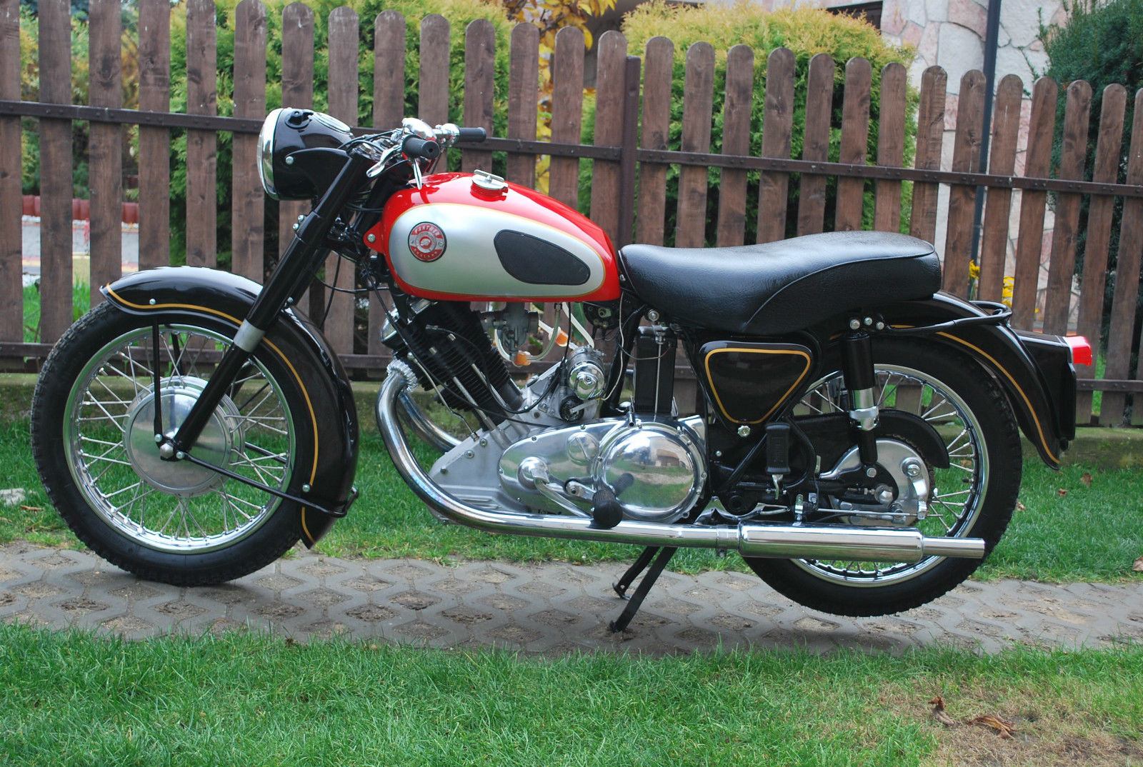 Panther M120 - 1959 - Restored Classic Motorcycles at Bikes