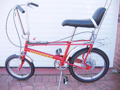 Restored raleigh chopper 1973 photographs at classic for Yamaha of raleigh