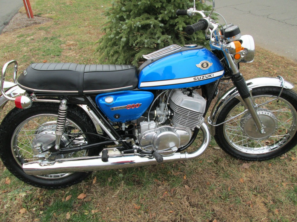 Restored Suzuki T500 1970 Photographs At Classic Bikes